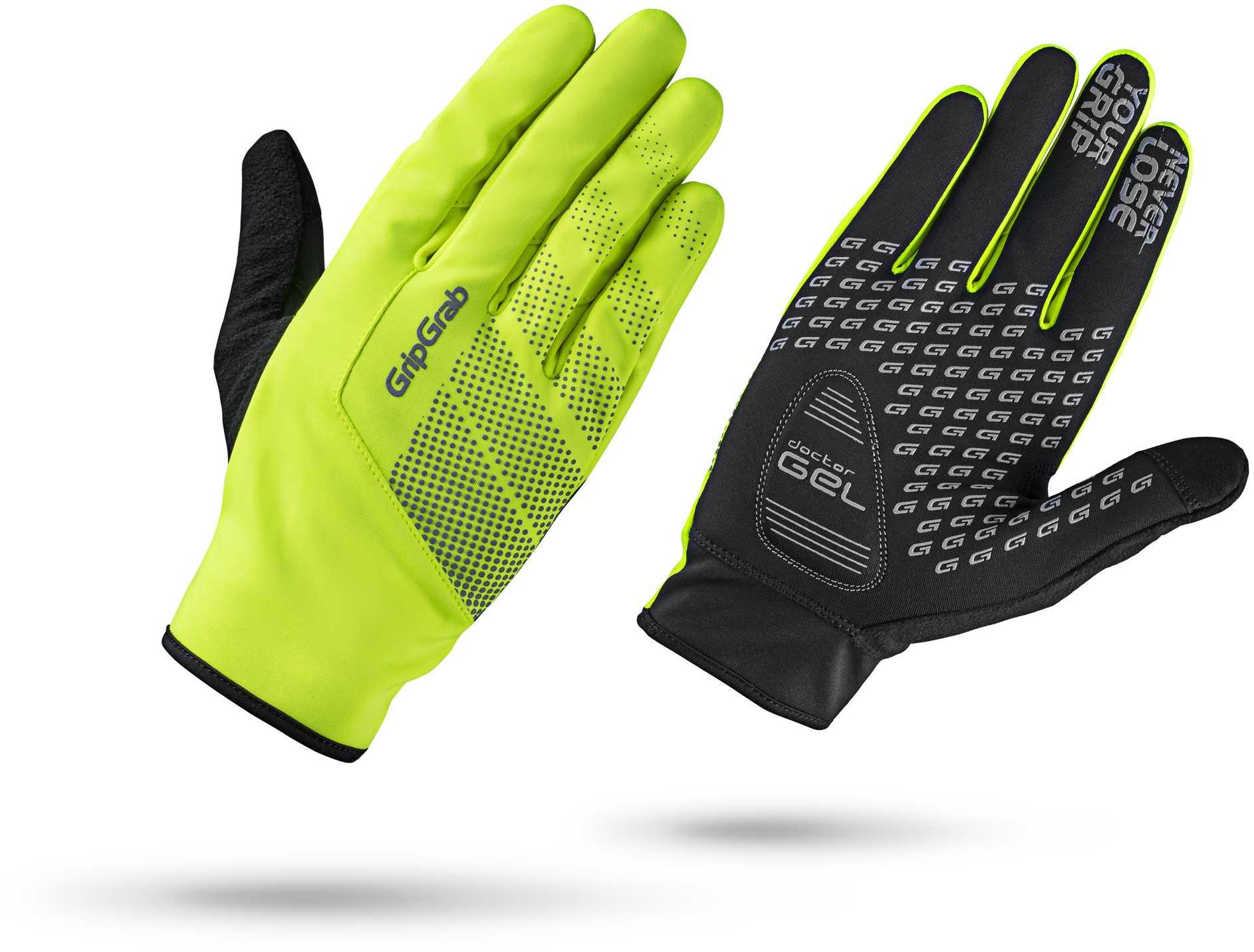 Handsker GripGrab Ride Windproof Midseason Hi-Vis gul | Handsker