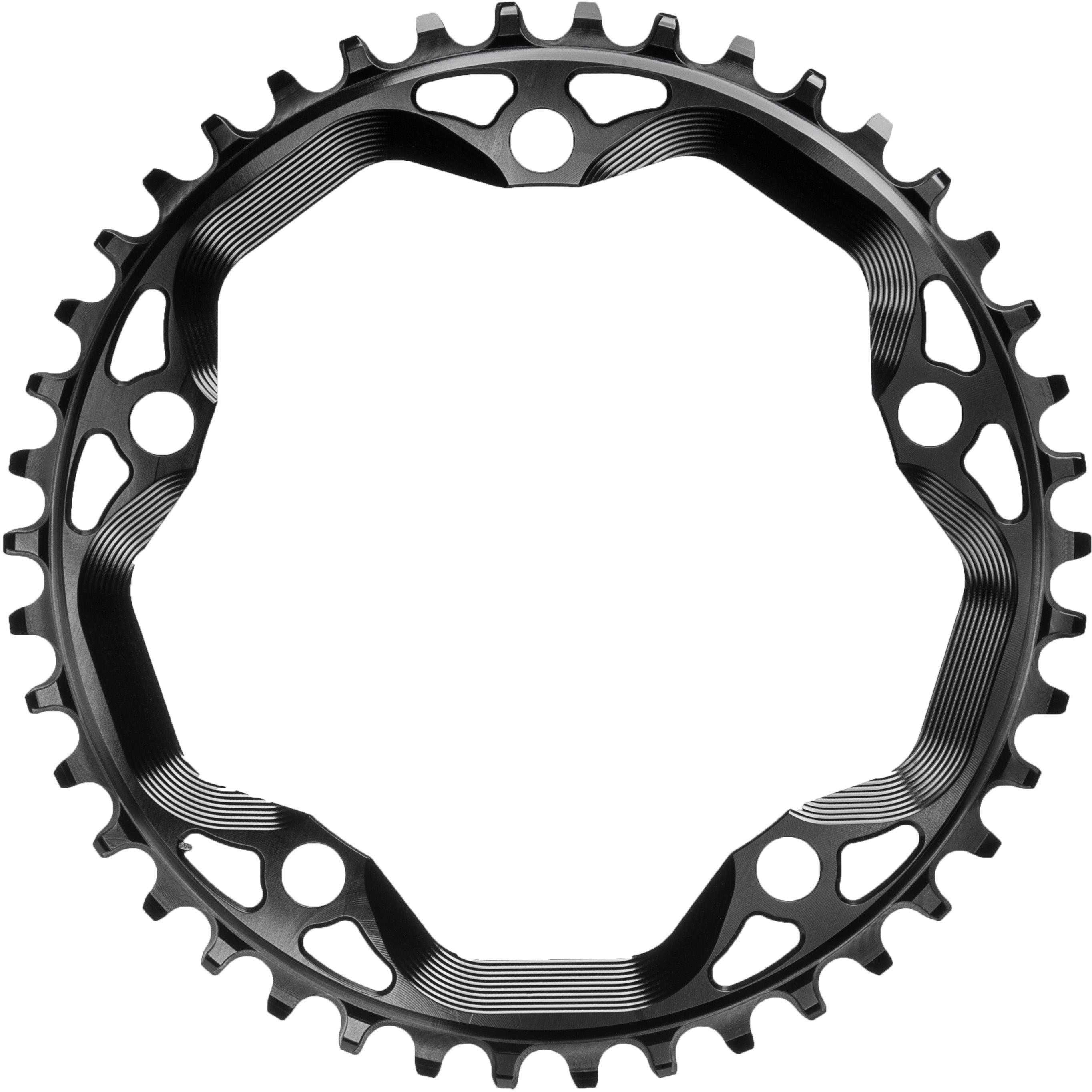 FRONT KLINGE ABSOLUTEBLACK CX 1X ROUND NARROW-WIDE 110 BCD 38T SORT | chainrings_component