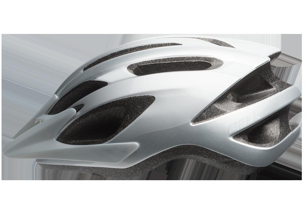 Hjelm Bell Crest Jr mat blå/hvid   Helmets
