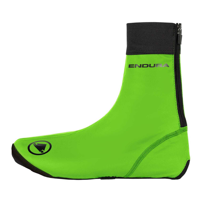 Skoovertræk Endura FS260-Pro Slick II hi-viz grøn   Shoe Covers