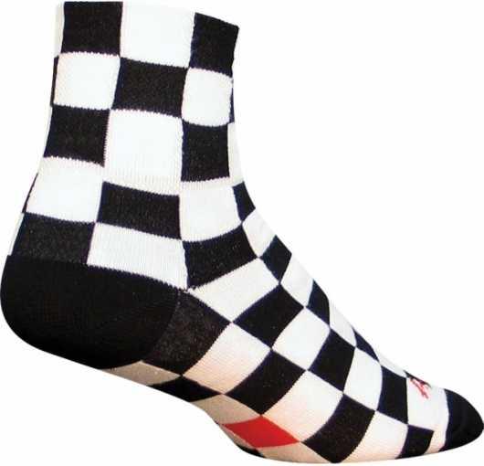 Strømper Sockguy Ridgemont Rutig sort/hvid   Socks