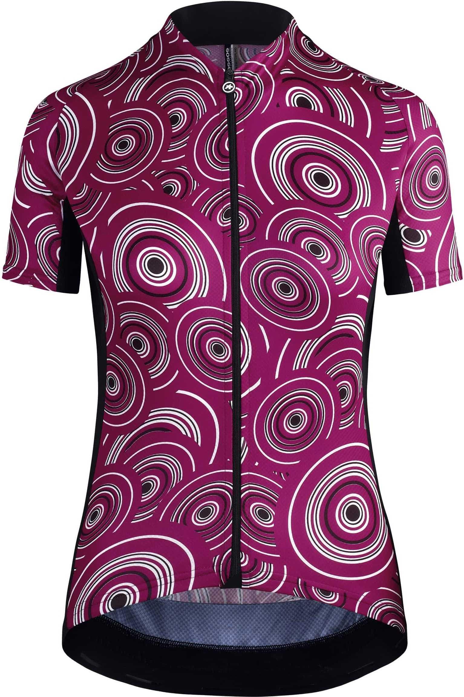 Assos Dame Cykeltrøje UMA GT Short Sleeve Jersey Camou, Lilla | Trøjer