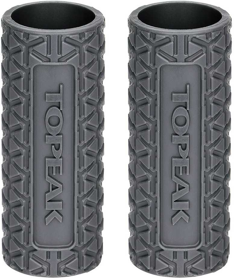 Silikonskydd Topeak för 25 g Kolsyrepatron grå 2-pack | CO2 Pumper og patroner