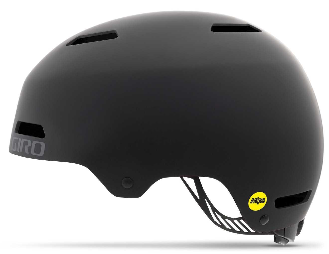 Hjelm Giro Dime FS MIPS sort | Helmets