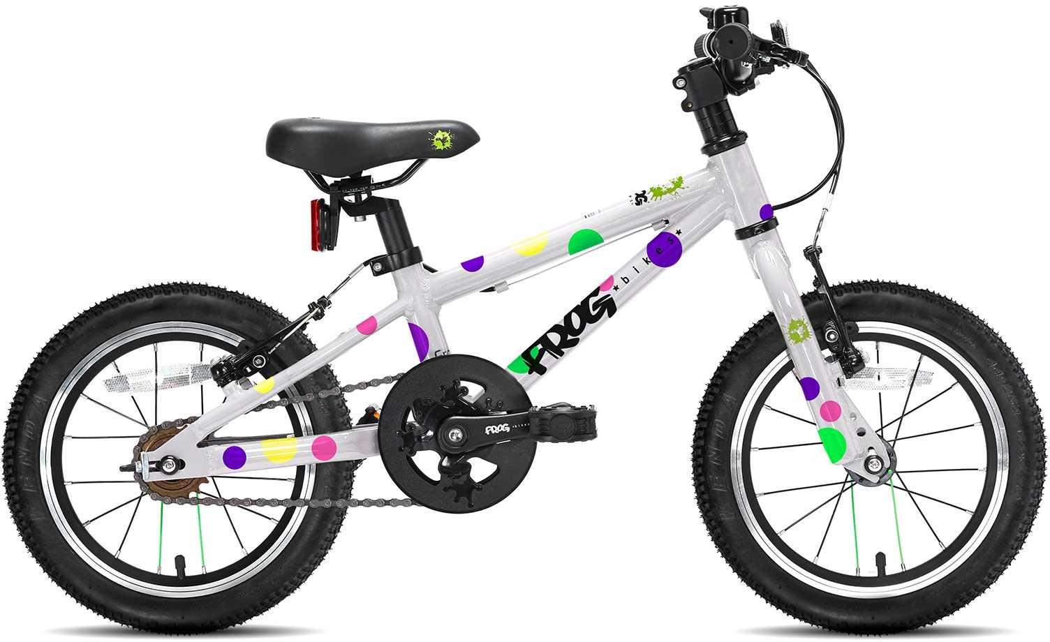 Frog 40 vit/prickar | City-cykler