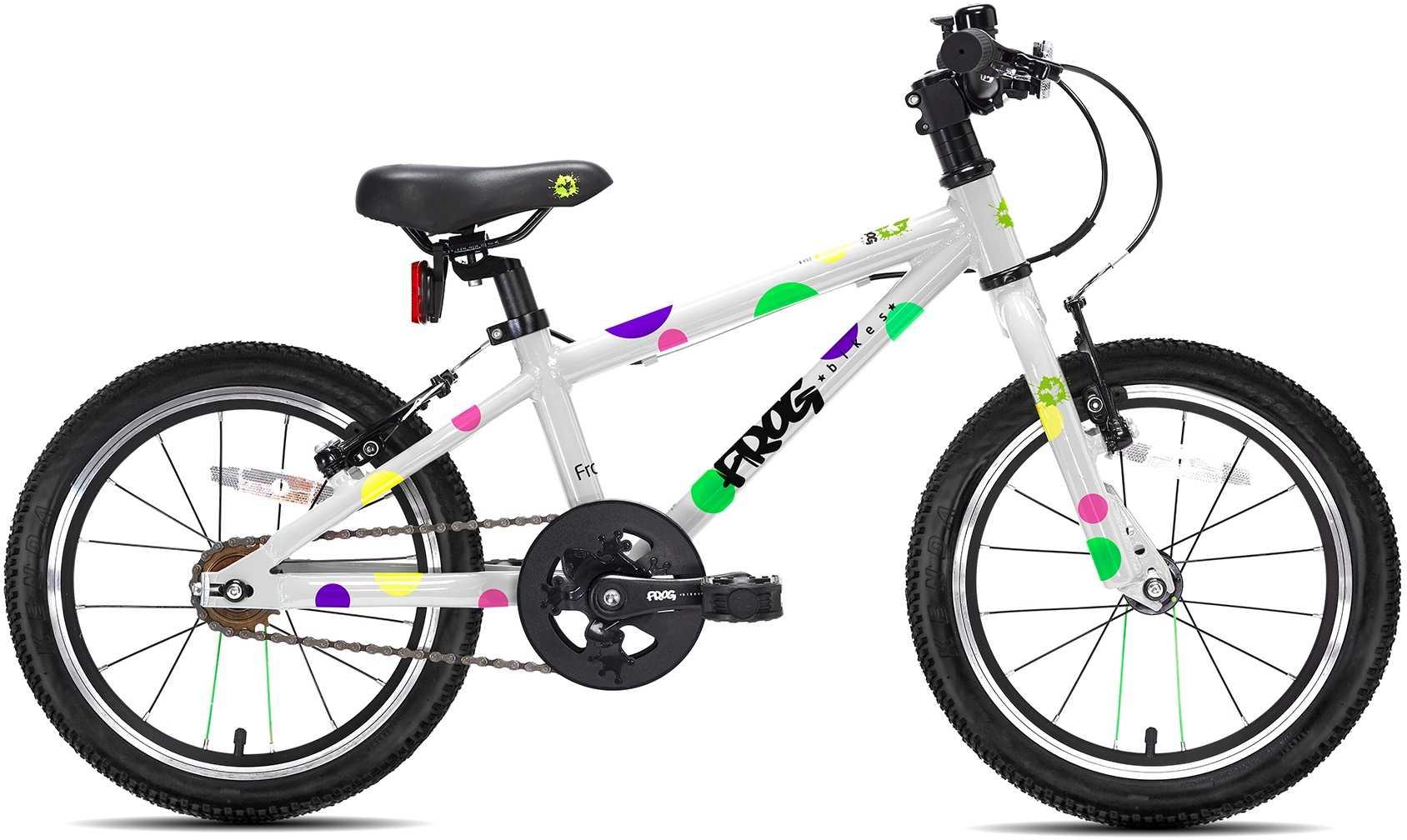 Frog 48 vit/prickar | City-cykler