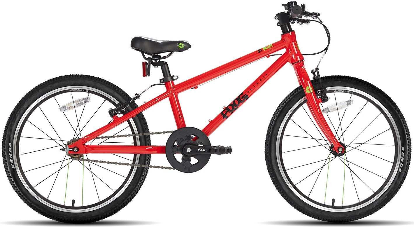 Frog 52 Single Speed röd | City-cykler