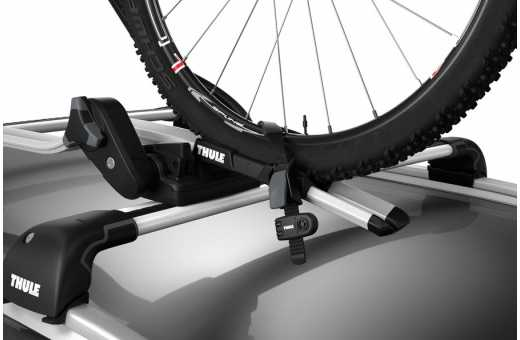 Passar alla Thule cykelhållare som har hjulremmar i plast