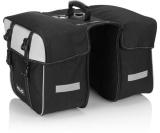 Packväskor XLC BA-S74 2x15 l svart/silver