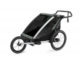 Cykelvagn Thule Chariot Lite 2 Agave Grå