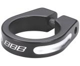 Sadelstolpsklamma BBB Thestrangler 31.8 mm svart