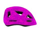 Cykelhjälm One Racer rosa