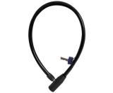 Vajerlås OXC Hoop 4x600mm svart