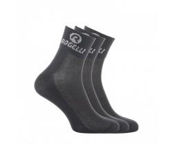 Strumpor Rogelli Promo 3-Pack Black