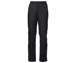 Regnbyxa Vaude Women's Drop Pants II svarta