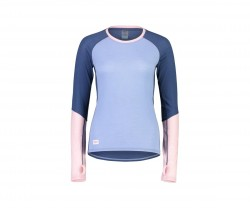 Tröja Mons Royale Womens Bella Tech LS Blå