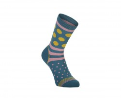 Strumpa Mons Royale Womens All Rounder Crew Sock Blå