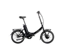 Elcykel Ecoride Flexer 20 AXS Fold H-3 Dam svart