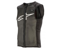Ryggskydd Alpinestars Paragon Plus Protection Vest svart/vit