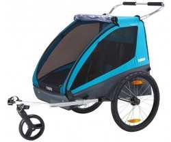 Sykkelvogn Thule Coaster Xt 2 Barn Blå