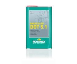 Jarruneste Motorex DOT 5.1 pullo 1 litra
