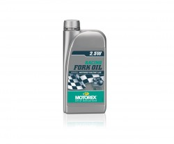 Haarukkaöljy Motorex Racing Fork 25W purkki 250 ml