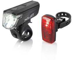Belysningsset XLC CL-S20 svart