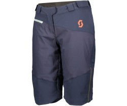 Baggy Shorts Scott Trail Storm Alpha dam blå