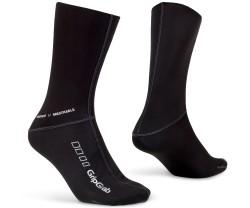 Pyöräilysukat GripGrab Windproof Sock Musta
