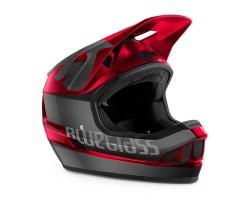 Cykelhjälm Bluegrass Legit svart/röd metallic