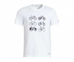 T-Shirt Vaude Men's Cyclist T-Shirt V vit