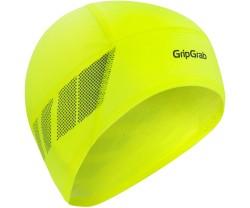 Hjälmmössa GripGrab Windproof Thermal Lightweight Hi-VFis Gul