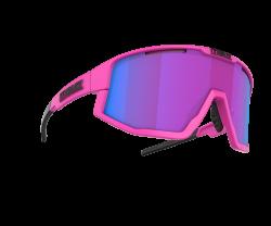 Cykelglasögon Bliz Fusion Matt Neon Pink Nordic Light Begonia