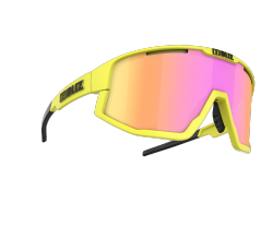 Cykelglasögon Bliz Fusion Matt Neon Yellow