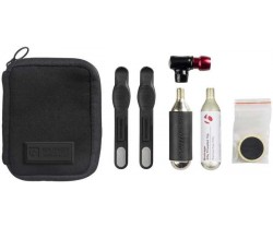Hiilidioksidipumppu Bontrager Pro Flat Pack Musta