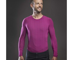 Underställ GripGrab Freedom Seamless Thermal Base Layer LS rosa