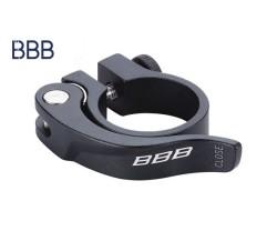 Sadelstopsklamma BBB Smoothlevel 348 mm svart
