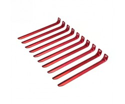 Nordfjell Tent Pegs 10-Pack Red
