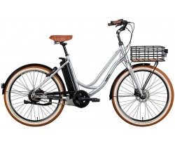 Ecoride Classic 26 Lowstep silver