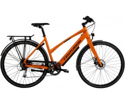 Elcykel Centurion Zero E dam svart/orange