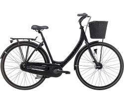 Naisten pyörä Black Winther 4 7-vaihteinen musta