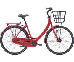 Naisten pyörä Red Winther 4 7-vaihteinen punainen