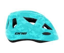 Cykelhjälm One Racer blå