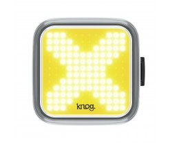 Framlampa Knog Blinder Cross gul