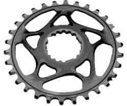 Drev AbsoluteBlack Round Cannondale Hollowgram 9-12 växlar 34T svart
