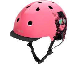 Cykelhjälm Electra Cool Cat rosa