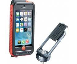 Telefonveske Topeak Ridecase Iphone Se/5/5s Svart/rød + Powerpakke 3150 Mah