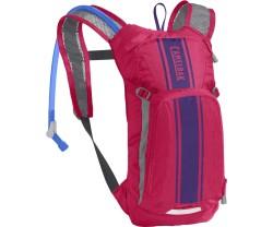 mini m.u.l.e.® 50 oz hot pink/purple stripe