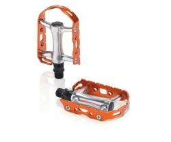 Pedaler XLC PD-M15 Ultralight colour edition silver/orange