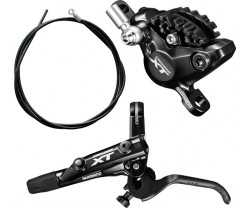 Skivbroms Shimano XT BR-M8000 I-spec II resinbelägg fram